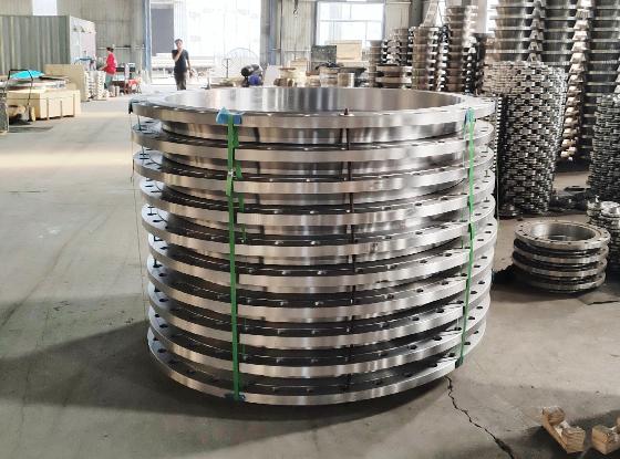 美标碳钢大直径全平面对焊法兰